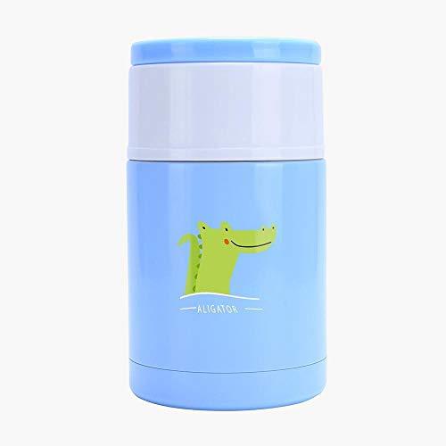 Zhenfa cibo potrete pranzare sotto vuoto in acciaio inox thermos flask portatile tazza lunchbox 1000ml multicolor