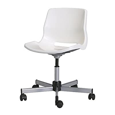 IKEA SNILLE - Swivel chair, white - low-cost UK light shop.