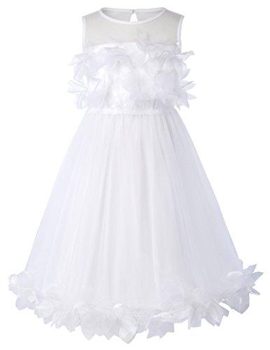 Cosplay Karin Kostüm (Aermellos Blumenmaedchen kleid Sommer Kleid 2-3 jahre)