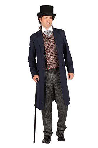 Thetru Herren Kostüm Biedermeier Gentleman Anzug Karneval Fasching Gr.XL