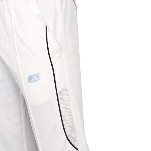 Vector X Striker Polyester Cricket Set, Medium (White)