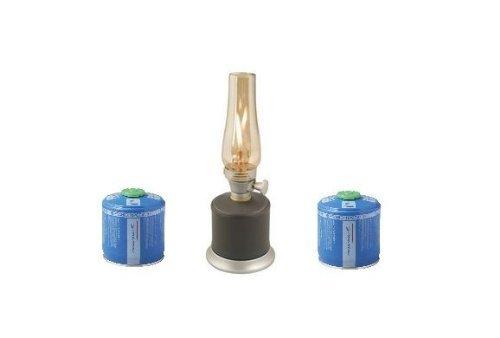 CAMPINGAZ Gaslampe Ambiance Lanterne mit zusätzlichen 2 Gaskartuschen CV 300 Plus