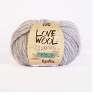 #105 Katia Love Laine très épaisse 15 mm et de 12 aiguilles 85% laine, 15% alpaga 100 g
