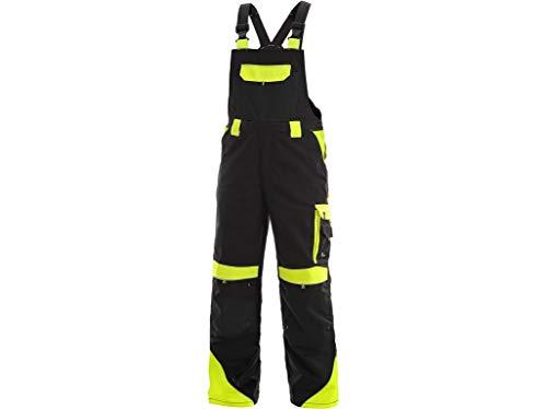 CXS Sirius Brighton - Herren Arbeitslatzhose mit Kniepolstertaschen und reflektierende Streifen - Hochwertige, komfortable und atmungsaktive elastische Arbeitsoveralls für Herren mit modernem Schnitt