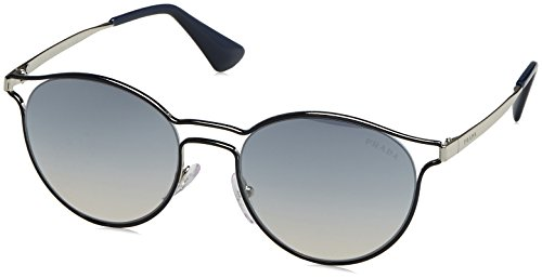 Prada Damen 0PR62SS TFM5R0 53 Sonnenbrille, Blau (Bluette/Silver/Blue Silver80),