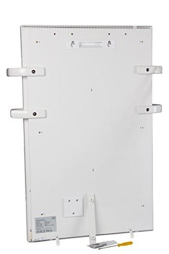 SUNTEC Bad-Wärmewelle Heat Supreme [Wellness-Wärme für Räume bis 35 m³ (~15 m²), Wandmontage, 2-fach Handtuchhalter, 1000 Watt] -