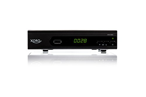 Xoro HRS 8660 Smart Digitaler Satelliten-Receiver (HDTV, DVB-S2) Schwarz