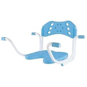 BARBADOS Badewannen-Einhänge Sitz m. Lehne, blau, Badehilfen