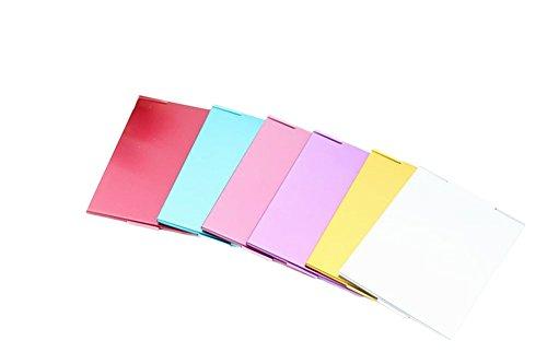 Chytaii Kosmetikspiegel Taschenspiegel Ultra Dünn Handspiegel Make Up Spiegel klappbar zufällige...