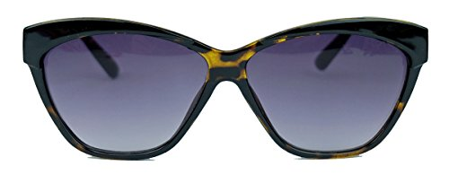 Trend Sonnenbrille für Damen im 50er 60er Jahre Cat Eye Stil FARBWAHL C29 (Braun)
