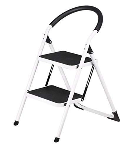 FENGSGEXING-Ladders Klappleiter Multifunktion Tragbar Rutschfest 2 Schritte Steigen Sie Auf...