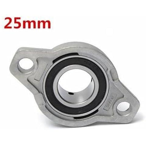 25 mm de diámetro interior de zinc almohada aleación bloque brida teniendo kfl005