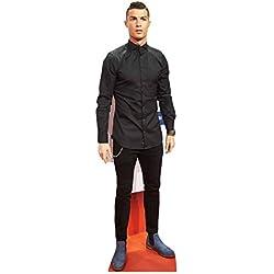 Star Cutouts vida tamaño de cartón Cut Out Cristiano Ronaldo, multicolor