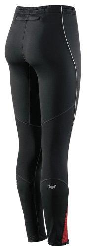 erima Xetra Line Damen Running Tight lang schwarz/rot/weiß Gr. 44