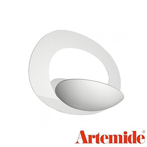 Artemide Pirce Micro Led Parete, Alluminio, Bianco