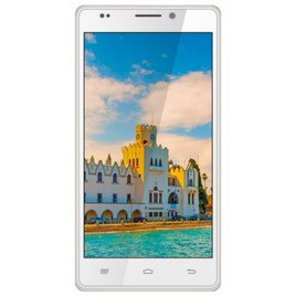 Intex Aqua Power HD (White-Gold)