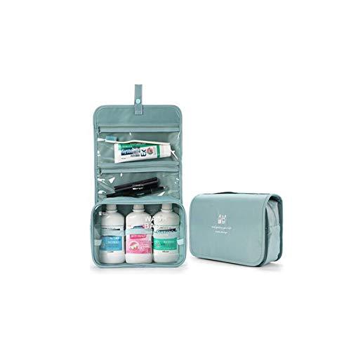 Waschtasche, Reisetasche wasserdicht und tragbar, geeignet für Männer und Frauen auf der Aufbewahrungstasche für Geschäftsreise, multifunktionale Waschtasche, Reise-Produkte grün Rosa -