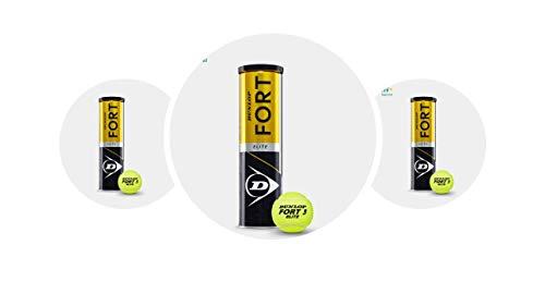 Dunlop Fort Elite Tennisball 3 x 4er Dosen 12 Bälle