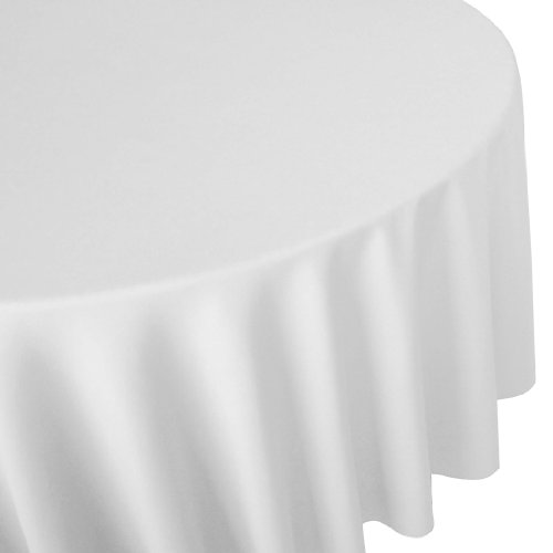 Remedios 108X108inch Round Satin Tablecloth/Table Decoration-10 pcs