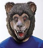 Orlob Maske Bär Tiermaske Bärenmaske zum Kostüm an Karneval Fasching