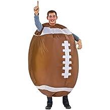 Disfraz de futbol americano hinchable para adulto Única