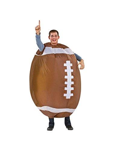 arer Football Kostüm für Erwachsene Einheitsgröße (Aufblasbarer Ball Kostüm)