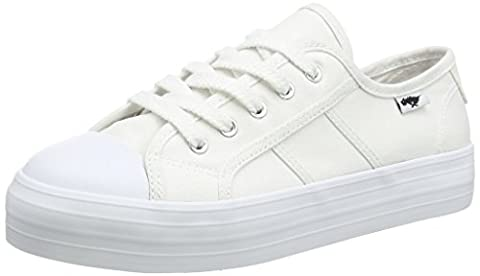 Rocket Dog Magic, Women's Low-Top Trainers, Canvas White, 8 UK