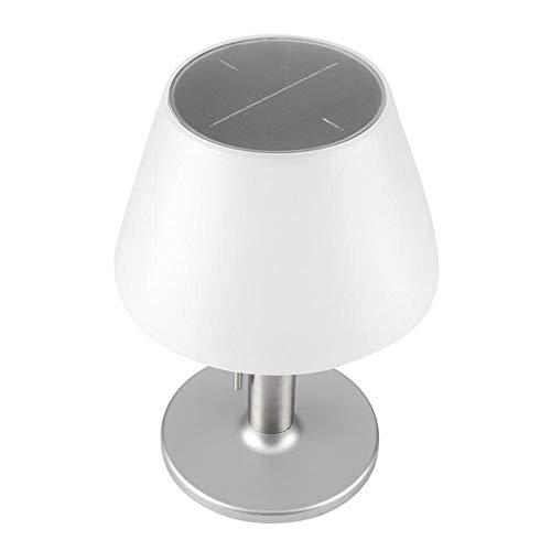 HM2 LED Solar Power Schreibtischlampe, Augenschutz Leselampe, Beleuchtungsdauer 4/8 Stunden wasserdicht, für Cafe Courtyard Schlafzimmer -