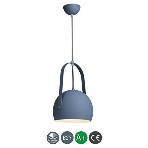 BYDXZ Luminaire Suspendu Moderne Enfants Luminaire Suspendu Métal E27 Luminaire Suspension Minimaliste Suspension Luminaire de Plafond décoratif intérieur Hauteur réglable Loft Table à Manger Salle à