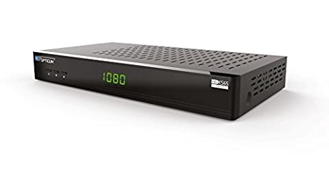 OPTICUM BLUE XS65 Twin Full HDTV Satelliten-Receiver mit Conax Kartenleser inkl. 8GB USB Stick (USB-PVRready/Timeshift/Mediaplayer, 10/100Mbit LAN, 2x USB 2.0, WiFi Support, Android Remote App)