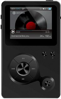 Hidizs AP100 Audio Player schwarz -    Schwarz (Hi-res-player)