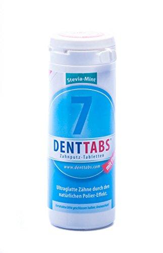 Denttabs Zahnputz-Tabletten Stevia-Mint 6-Monats-Packung, 38