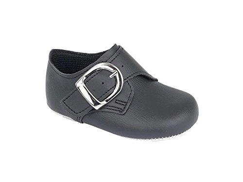 Baby/Kleinkind Jungen early days Baypods Smart Schnalle Schuhe von sechs Monaten bis 36 Monate Schwarz