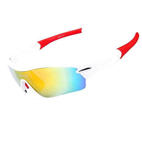 Retro Vintage Sonnenbrille, für Frauen und Männer Hochwertige PC Frame Unisex polarisierte Sport-Sonnenbrille mit 5 Stück Wechselobjektiven Radfahren Baseball Laufen Angeln Fahren Golf UV-Schutz