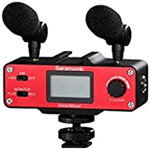 Saramonic SmartMixer Professional Recording Stereo Microphone Rig for iPhone & Android Smartphones