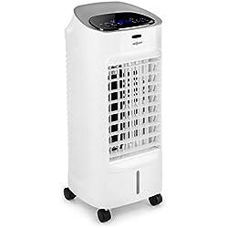 OneConcept Coolster IceLine • Rafraîchisseur d'air • Ventilateur • 3 Niveaux de Puissance • Réservoir d'eau de 4 litres • Ioniseur • Télécommande • Arrêt programmable • Blanc