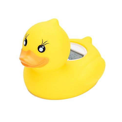 luckything Badethermometer, Duckling Digitales Wasserthermometer Und Badespielzeug, Wasserthermometer, Badeente, Badwannenspielzeug Für Babys Mit LED Warnalarm
