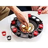 Epyz Roulette Casino Game Set With 16 Drinking Shot Glasses