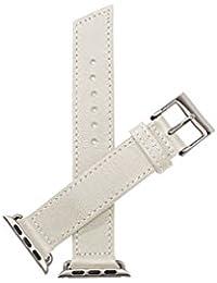 Reloj  NEVER ANALOG. Para Unisex Con    Y Blanco Cuero WP-10