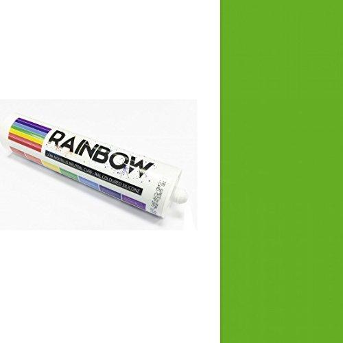 Rainbow RAL farbig Silikone gelb grün Abdichten Mastix Dichtstoff RAL6018 300ml