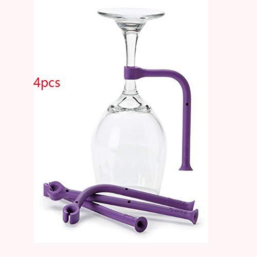 Weinglas-Halter für Geschirrspüler, flexibel, verstellbar, Silikon, Küchenutensilien für Wein...