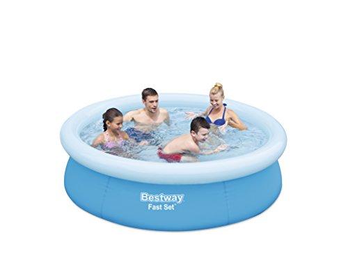 Schwimmbad Bestway Fast Set Pool 198 x 51 cm Familienpool Schwimmbecken Becken - 2