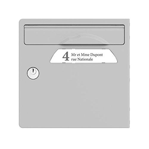 SGP Porte De Briefkasten grau