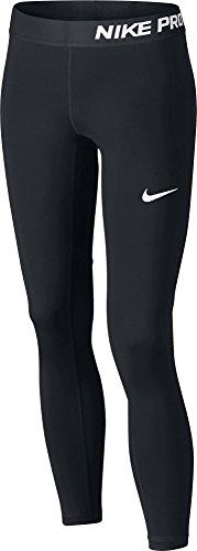 Nike Mädchen G NP Tights, Black/White, L