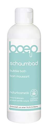 boep schaumbad - Naturkosmetik Badezusatz für Babys, Kinder & Erwachsene - Liebevoll entwickelt von einer Ärztin und Mama (200ml) -