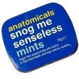 Anatomicals Snog Me Senseless - Sugar Free Peppermints 16g by Anatomicals (English Manual)