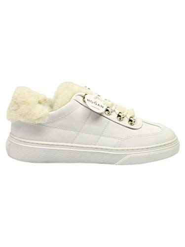 Hogan Sneakers Donna Hxw3650j330jck0mx3 Pelle Bianco