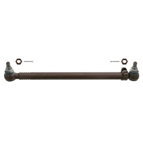 febi bilstein 24155 ProKit - Lenkstange mit Kronenmuttern und Splinten, vom Lenkgetriebe zum Lenkzwischenhebel 2. Achse, 1 Stück