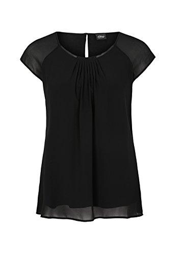 s.Oliver BLACK LABEL Damen T-Shirt Black