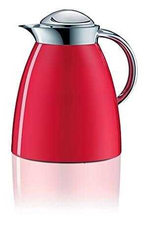 Alfi 3551.202.100 Isolierkanne Gusto Tea, 1 L, Metall, 16,6 x 20 x 22 cm, feuerrot